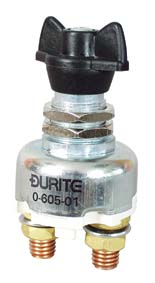 Durite battery switch, replace your original Lucas type switch. Available at Classic Spares