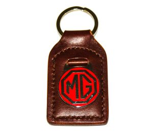 MG Red / Chrome Key Fob - Classic Spares