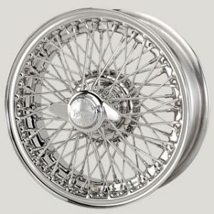 "5"" x 15"" 72 Spoke Stainless Steel Wire Wheel - Classic Spares"