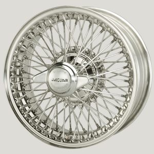 Jaguar XK Wire Wheels