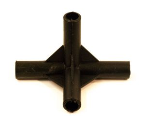 Air Chamber Plastic 4 Way Joint - Classic Spares