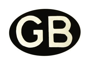 GB Oval Identifier - Classic Spares