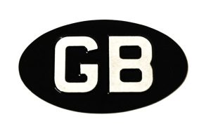 GB Oval Identifier - Small - Classic Spares