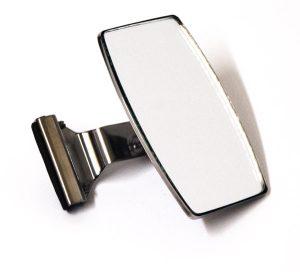 Rectangular Quarter Light Mirror - Classic Spares