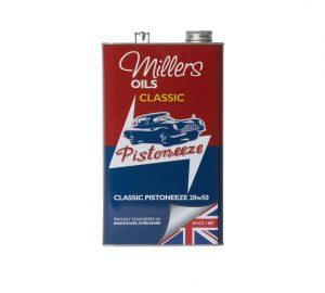 Buy Millers Classic Pistoneeze 20W50 at Classic Spares