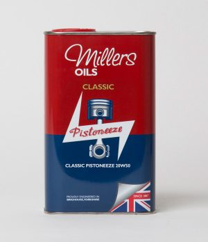 Buy Millers Classic Pistoneeze From Classic Oils