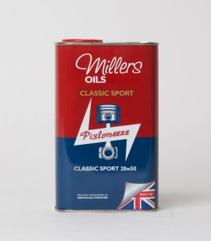 Order Millers Classic Sport 20w50 online at Classic Spares