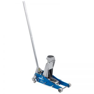 Draper Aluminium and Steel Trolley Jack (2.5 Tonne)