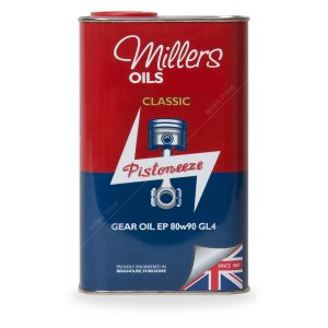 Millers Classic Gear Oil EP 80w90 GL4 1 Litre