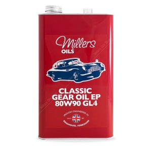 Millers Classic Gear Oil EP 80w90 GL4 5 Litre
